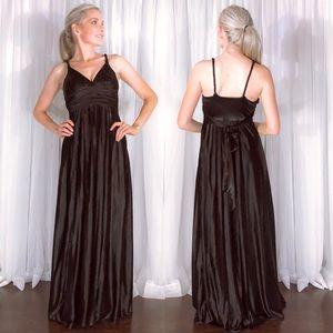 Black Formal Bridesmaid Homecoming Prom Dress